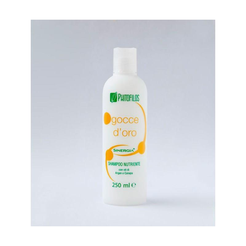Shampoo Nutriente Gocce D'Oro 250ml Phitofilos