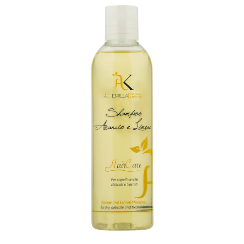 Shampoo Bio Arancio e Limone 250ml Alkemilla