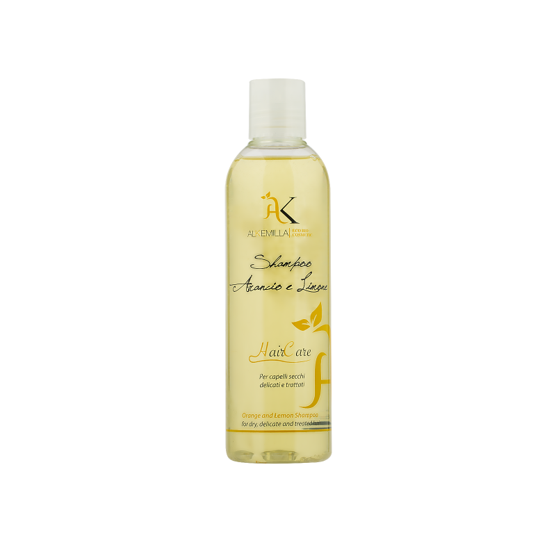 Shampoo Bio Arancio e Limone 300ml Alkemilla