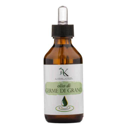 Olio Vegetale Germe di Grano 100% Naturale Puro 100ml Alkemilla