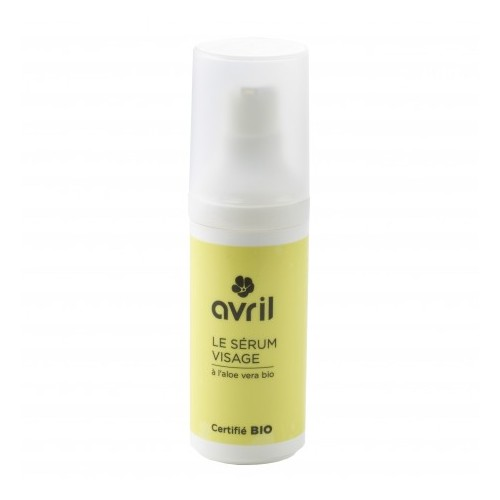 Siero Viso all'Aloe Bio 30ml Avril