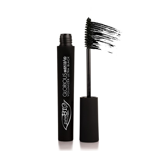 MASCARA GLORIOUS BIOLOGICO PUROBIO - 01 Nero