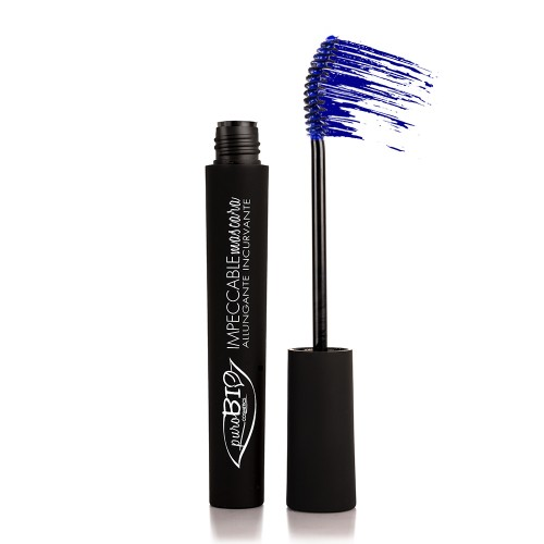 MASCARA IMPECCABLE BIOLOGICO PUROBIO - 02 Blu