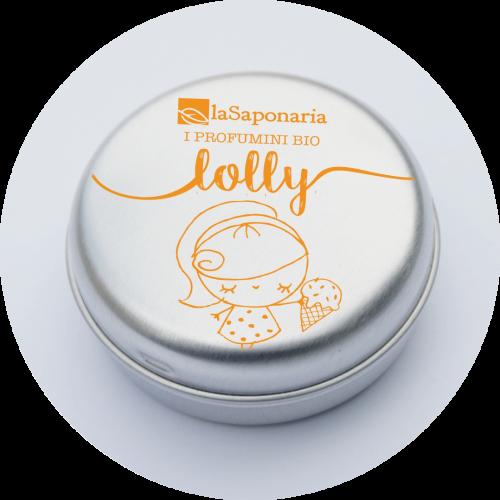Profumino solido bio Lolly  -Dolce e Avvolgente - laSaponaria