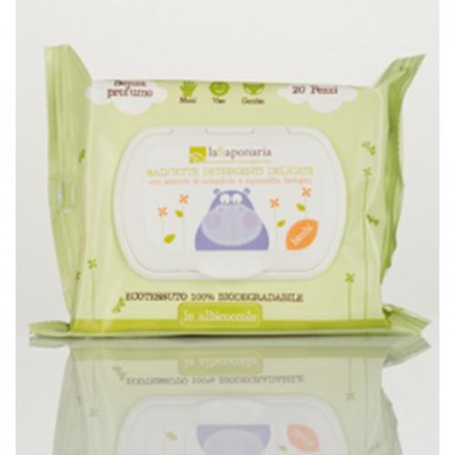 Salviette detergenti delicate - 20pz laSaponaria