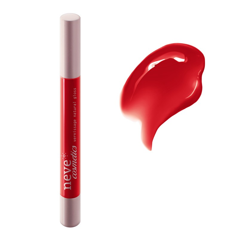 Vernissage Oriental Poppies Gloss naturale rosso papavero - Neve Cosmetics