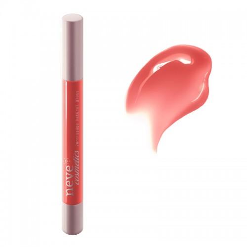 Vernissage Arearea Gloss naturale rosso corallo chiaro - Neve Cosmetics
