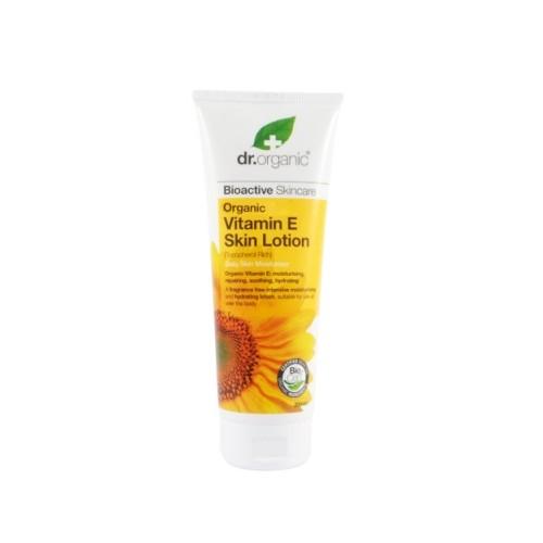 Crema per il Corpo Organic Vitamina E - Dr. Organic 200ml