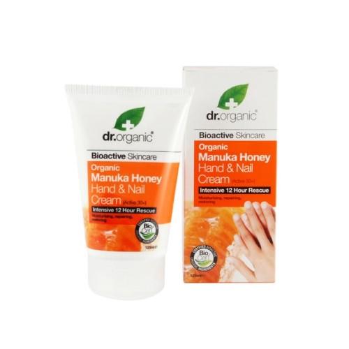 Crema Mani e Unghie al Miele di Manuka - dr. organic 125ml
