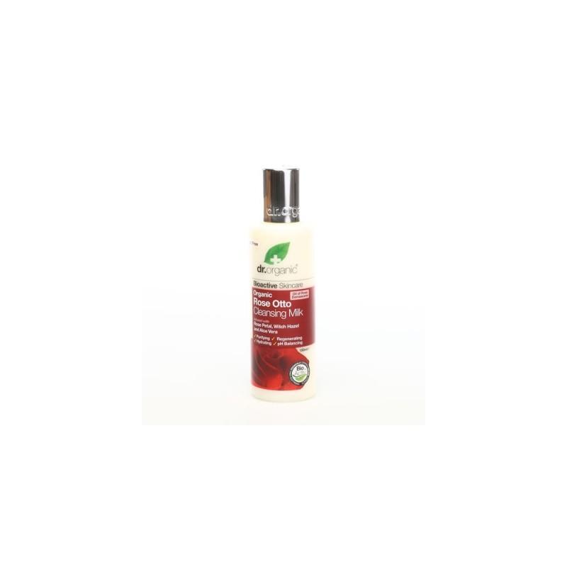 Latte detergente viso all'Essenza di Rosa 150ml dr. Organic