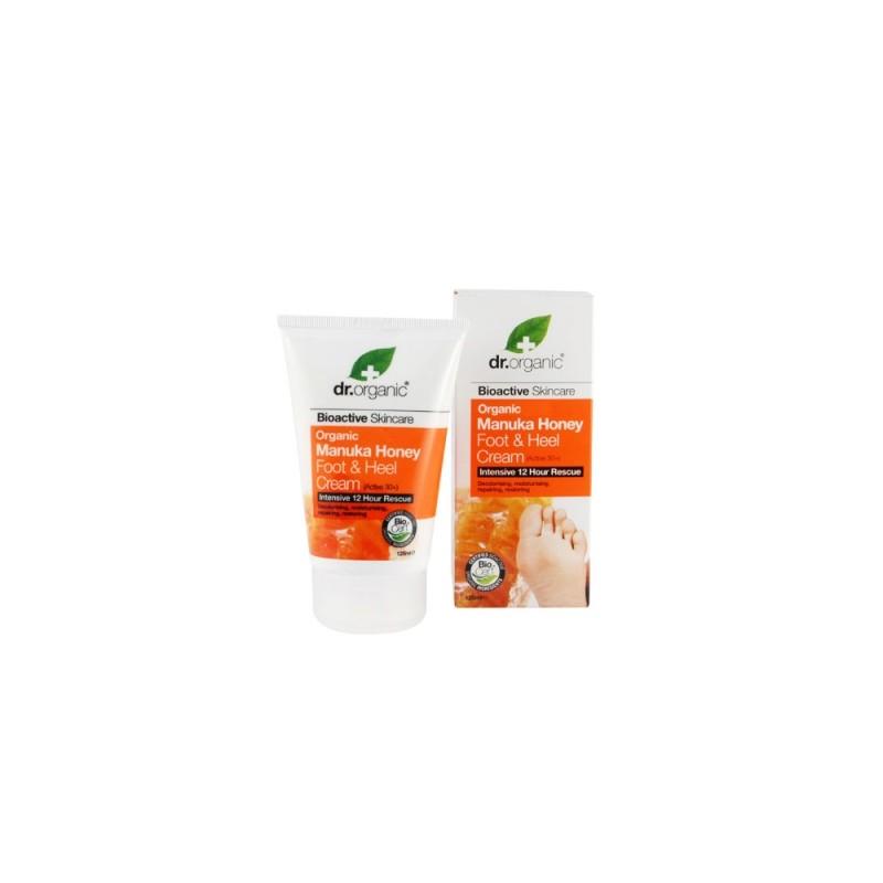 Crema per Piedi e Talloni al Miele di Manuka 125ml dr.organic