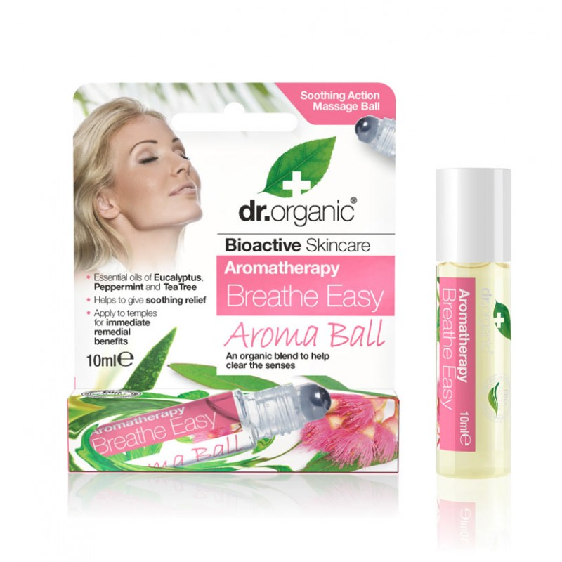 Aroma Ball BREATHE EASY- 10ml dr.organic