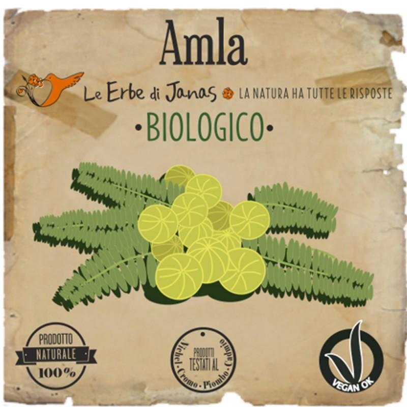 AMLA Erba cosmetica 100gr Le Erbe di Janas