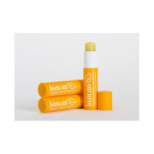 Biocao balsamo labbra vitaminico al Mandarino la Saponaria