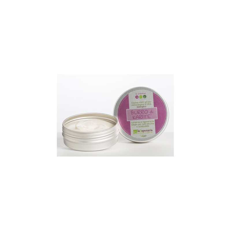 Crema mani rosa e karité 60ml la Saponaria