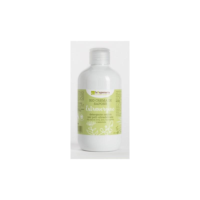 Bio  Crema di sapone extravergine laSaponaria 250ml