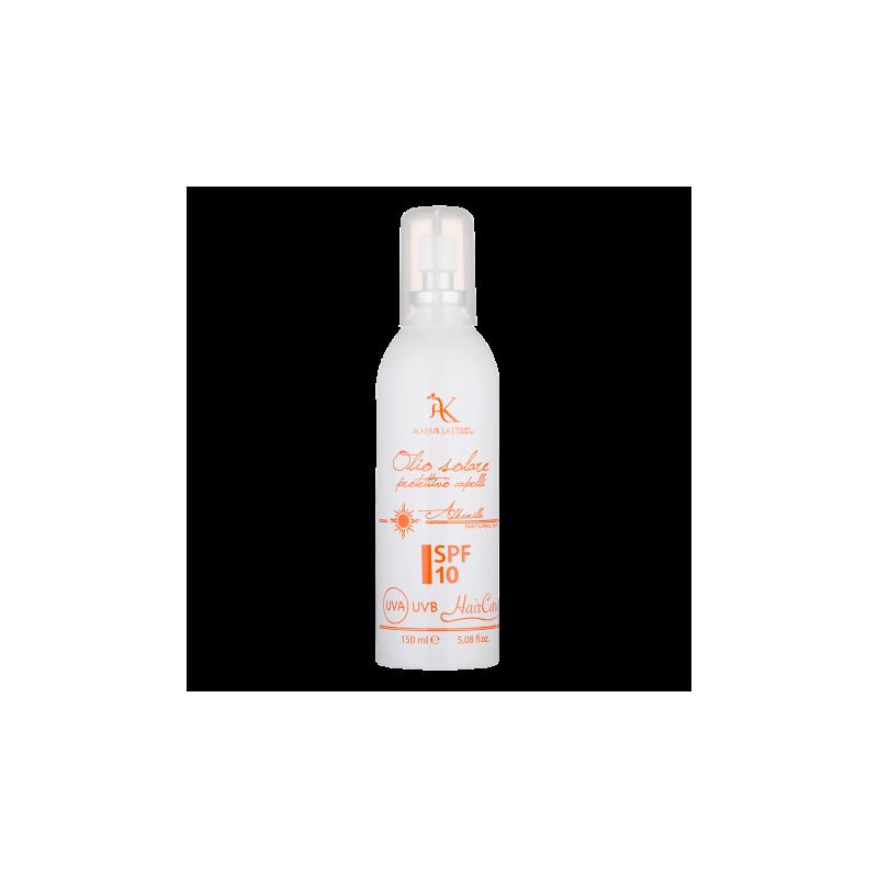 Olio Solare Protezione Capelli Spray SPF 10 - Alkemilla Olio Solare Protezione Capelli Spray SPF 10 - 150ml Alkemilla