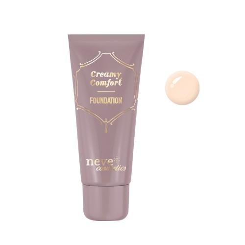 Fondotinta Creamy Comfort Fair Neutral - Chiarissmo - Neve Cosmetics