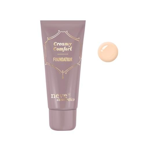 Fondotinta Creamy Comfort Light Neutral - Chiaro - Neve Cosmetics