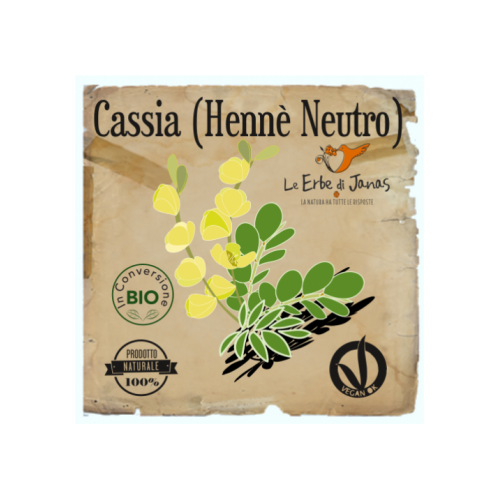 Cassia - Hennè Neutro 100gr Le Erbe di Janas