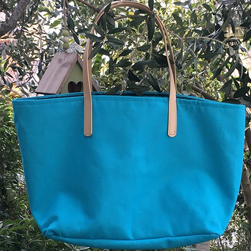 Rania Shopper in canvas di cotone - TheQueen