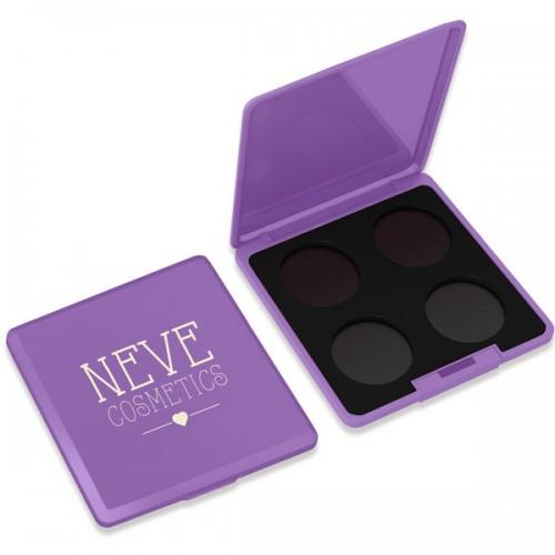 Palette personalizzabile da 4 Violet Vision Neve Cosmetics