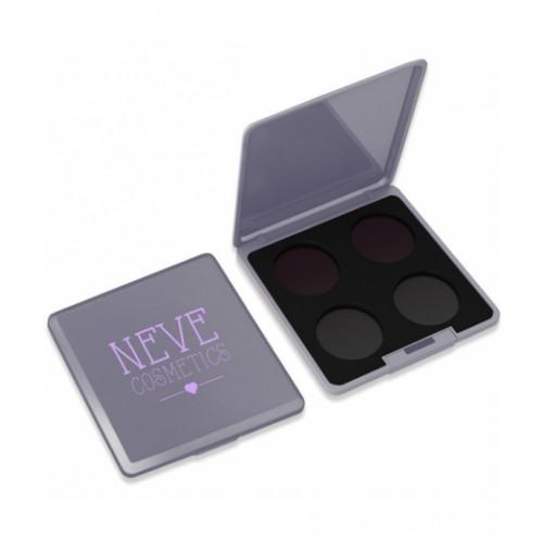 Palette personalizzabile da 4 Grey Glam Neve Cosmetics