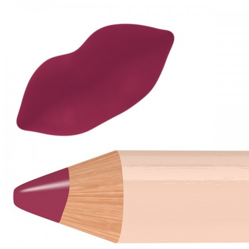 Pastello labbra vino/burgundy