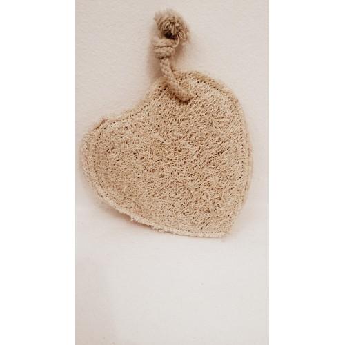 Pad a forma di cuore in Loofah Cose della Natura