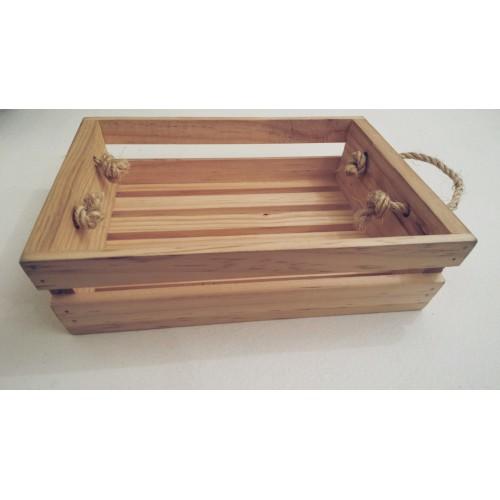 Cassetta portaoggetti in legno Cose della Natura