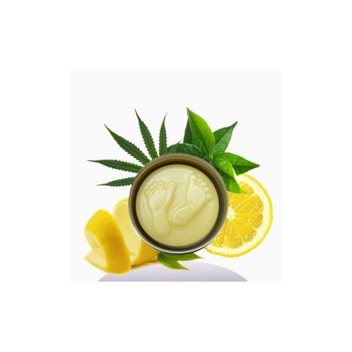 Crema Piedi solida Canapa Limone e Tea Tree 30gr Fattiamano