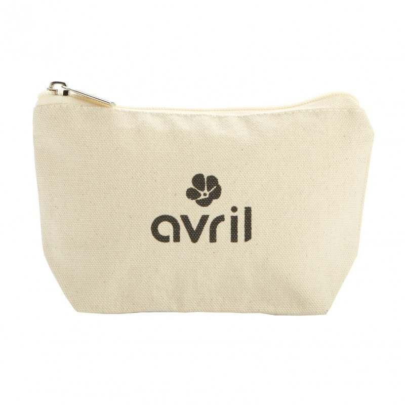 Trousse make-up in cotone bio formato grande Avril