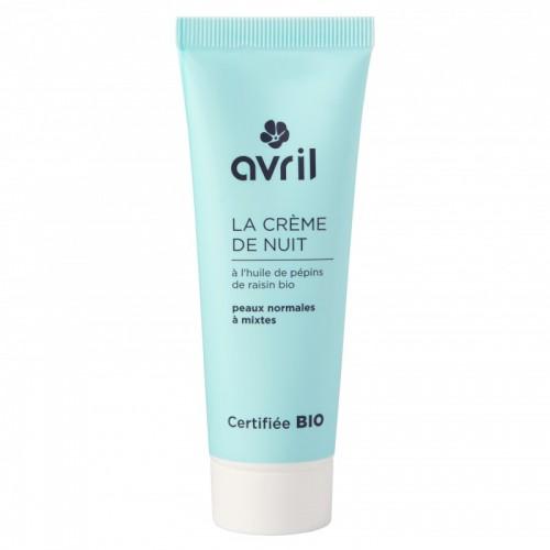 Crema Viso da notte pelli normali e miste Avril