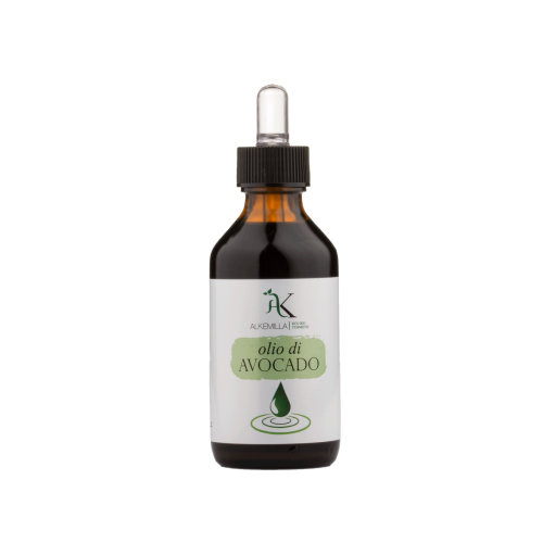 Olio Vegetale di Avocado 100% naturale puro 100ml Alkemilla