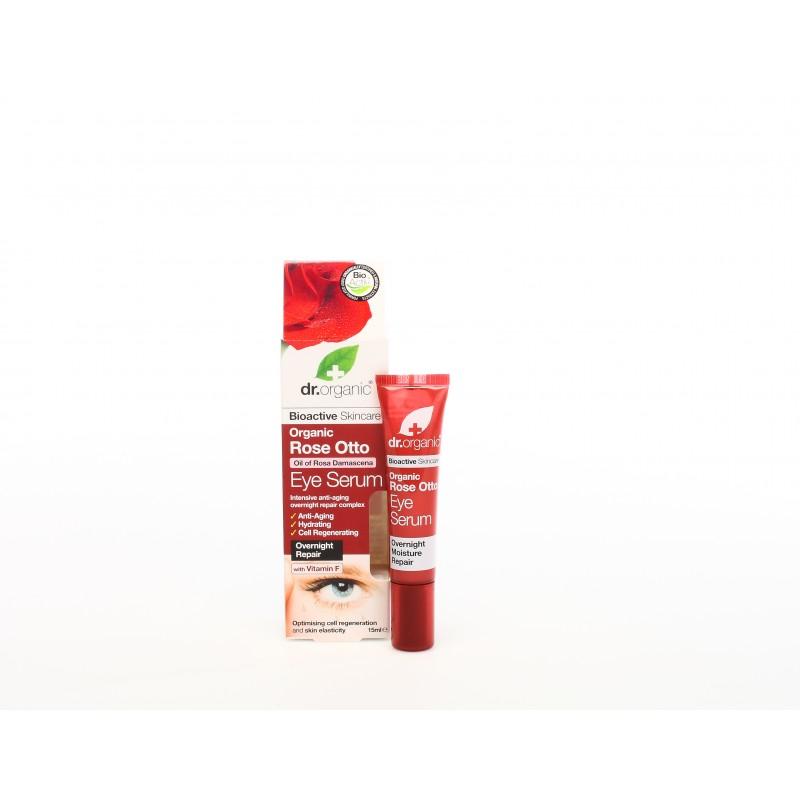 Siero Contorno Occhi all'Essenza di Rosa 15 ml dr. Organic