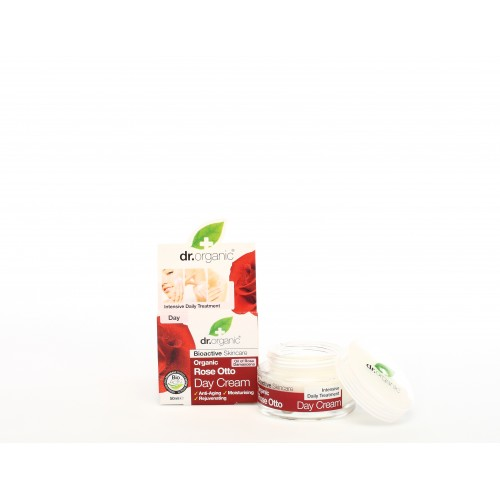 Crema da Giorno all'Essenza di Rosa 50ml dr. Organic