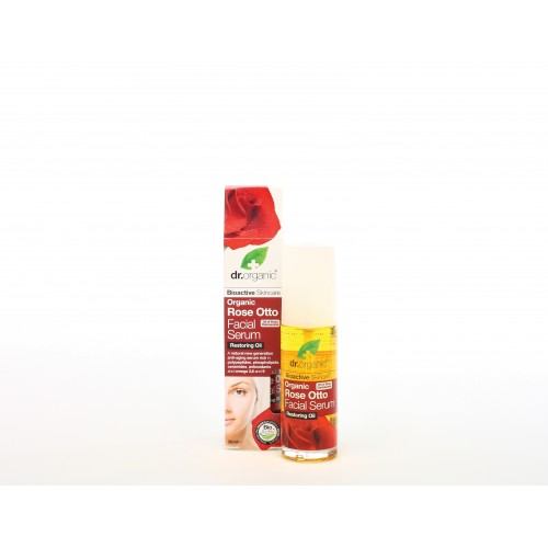Olio per il Viso all'Essenza di Rosa 30ml dr. Organic