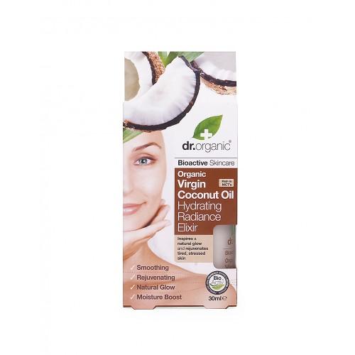 Siero Viso Idratante all'Olio di cocco 30ml dr. Organic