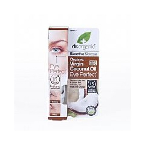 Contorno occhi all'Olio di Cocco 15ml dr. Organic