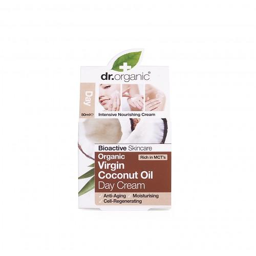 Crema Viso giorno all'Olio di Cocco 50ml dr. Organic