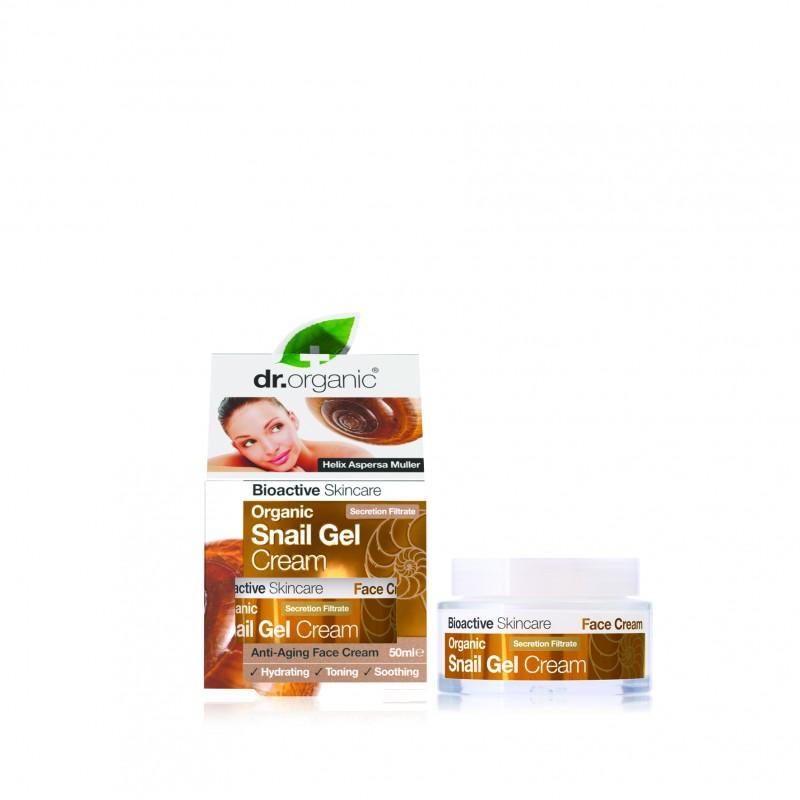 Snail Gel Crema viso nutritiva 50ml dr. Organic