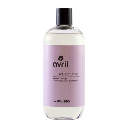 Gel Doccia Lavanda-Arancia 500 ml - certificato bio Avril