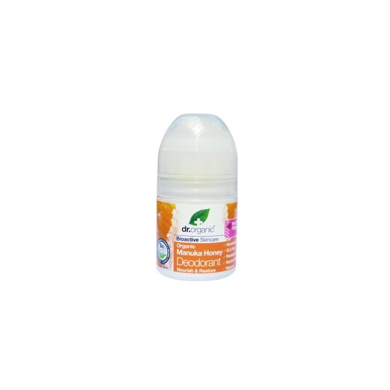 Deodorante Organic Miele di Manuka 50ml dr. Organic