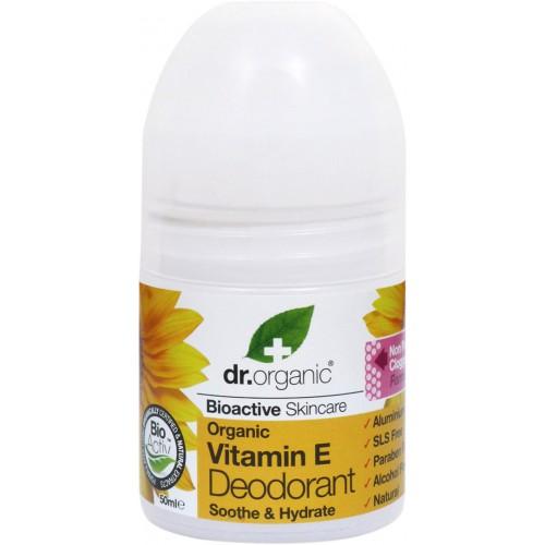 Deodorante Organic Vitamina E  50ml dr. Organic