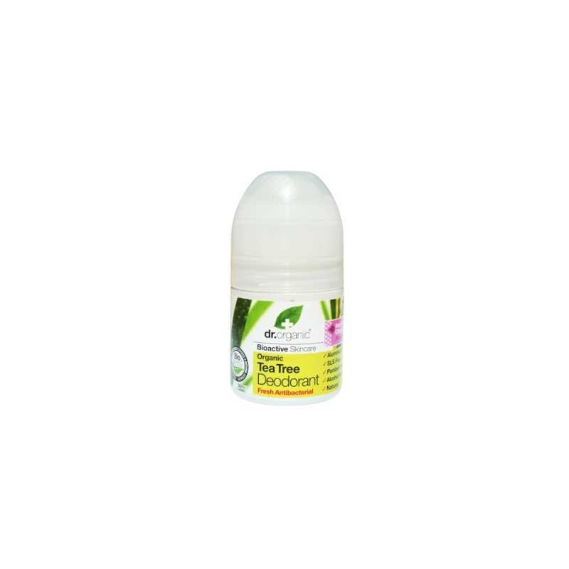 Deodorante Organic  Tea Tree  50ml dr. Organic