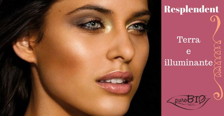 Linea Resplendent purobio cosmetics